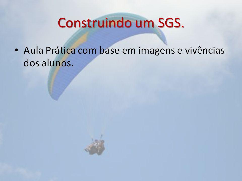 Construindo um SGS. Aula Prática com base em imagens e vivências dos alunos.