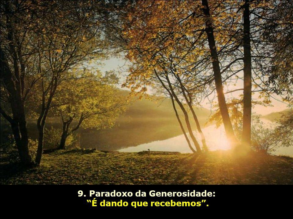 9. Paradoxo da Generosidade: