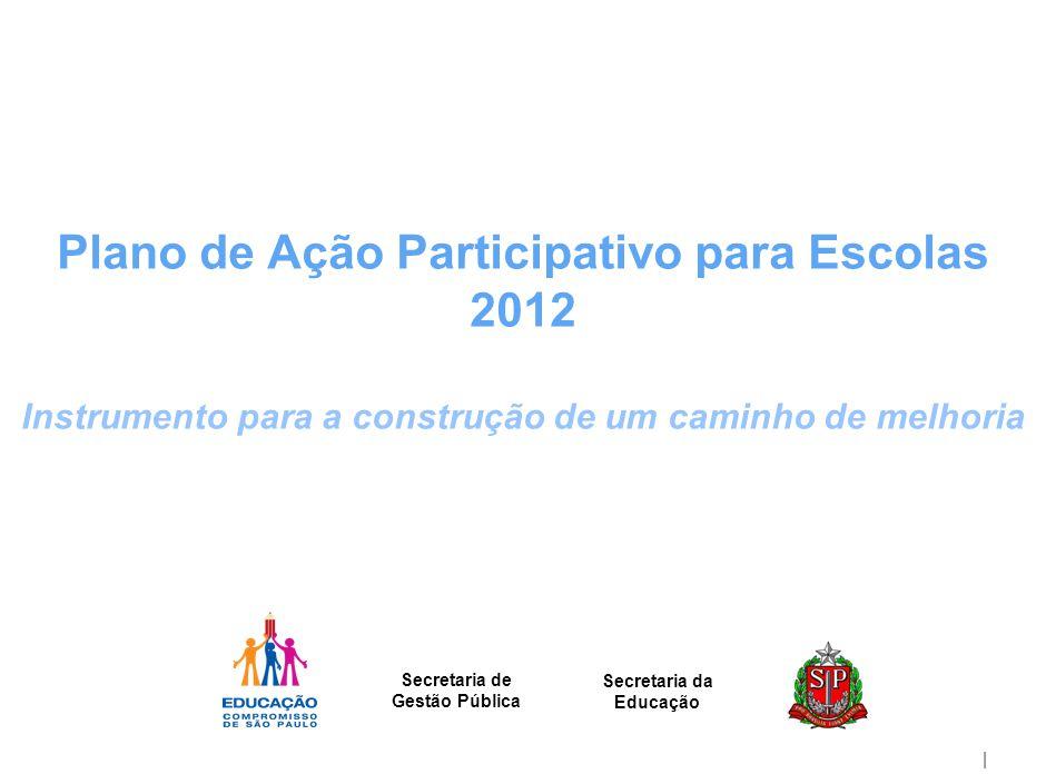 O Plano de Ação Participativo 2012