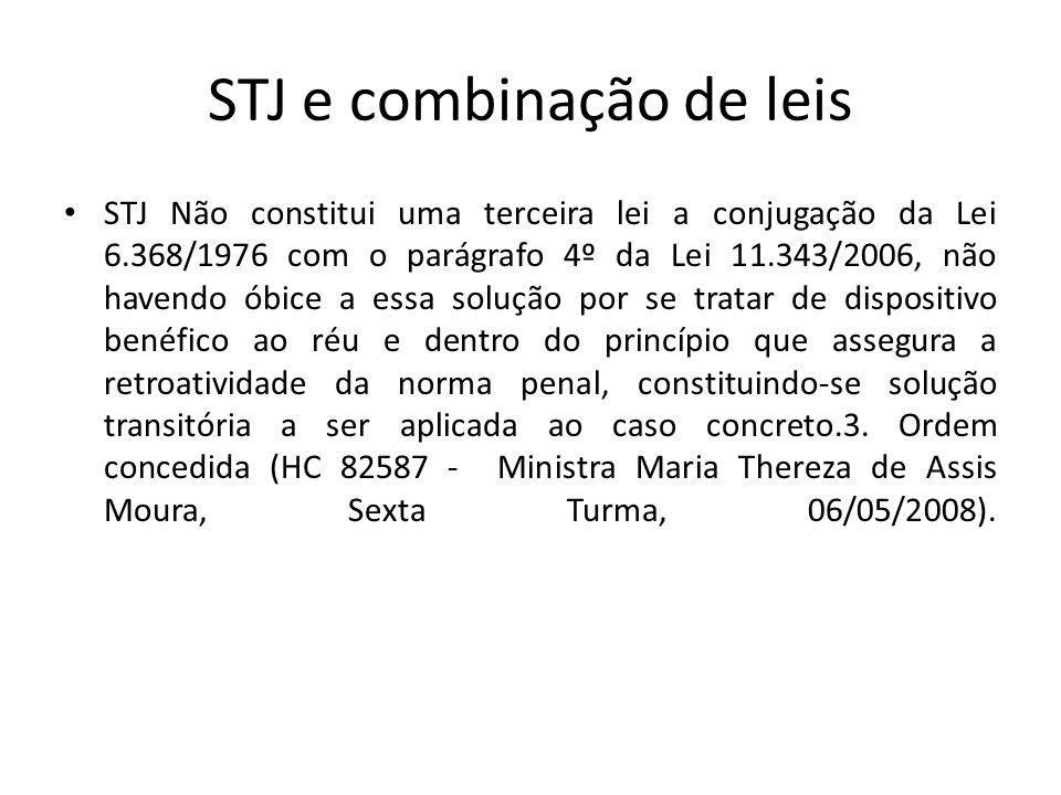 STJ e combinação de leis