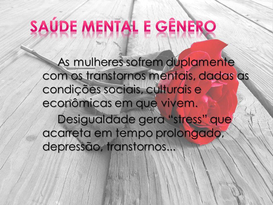 Saúde Mental e Gênero