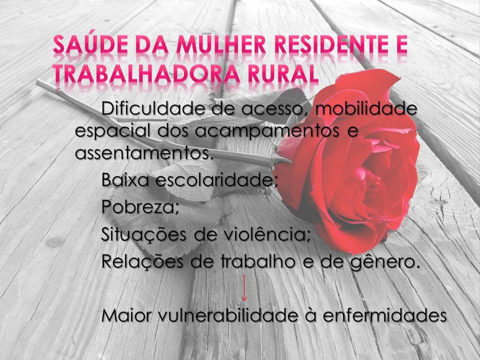 Saúde da Mulher Residente e Trabalhadora Rural