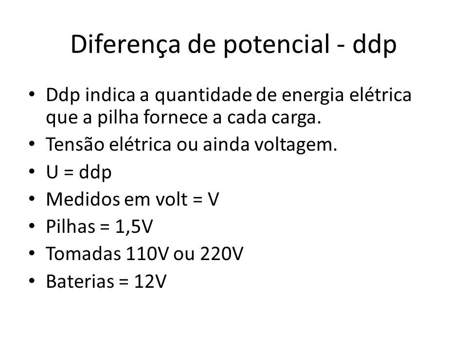 Diferença de potencial - ddp