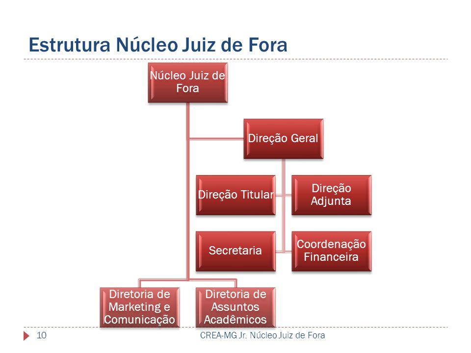 Estrutura Núcleo Juiz de Fora