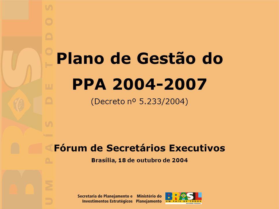 Fórum de Secretários Executivos