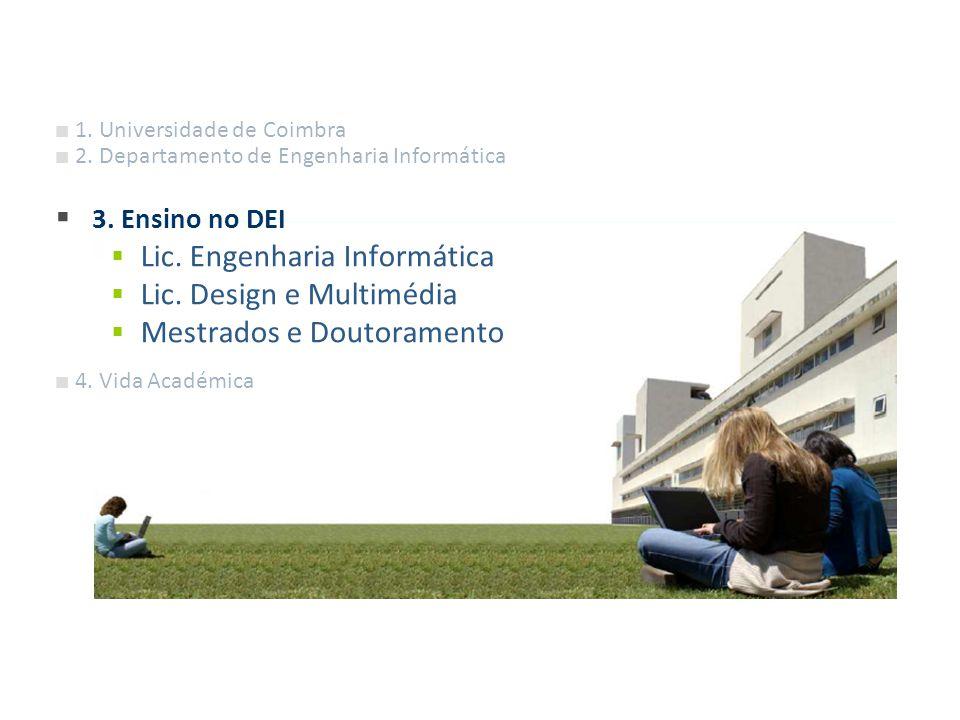 Lic. Engenharia Informática Lic. Design e Multimédia