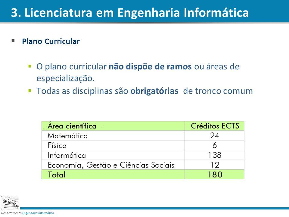 3. Licenciatura em Engenharia Informática