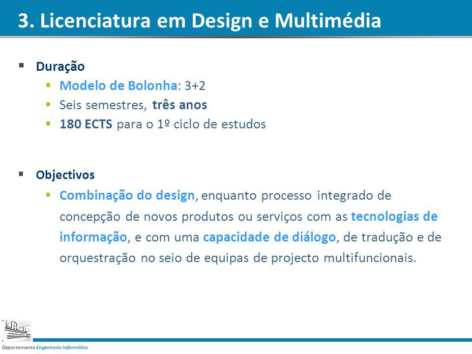 3. Licenciatura em Design e Multimédia
