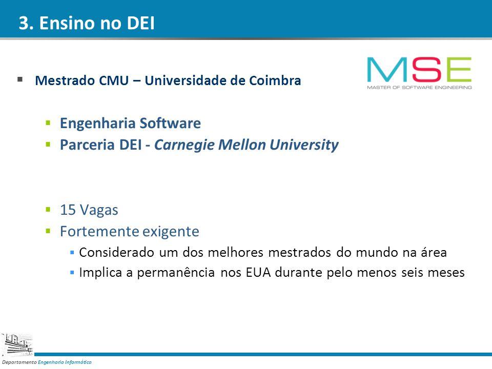3. Ensino no DEI Engenharia Software