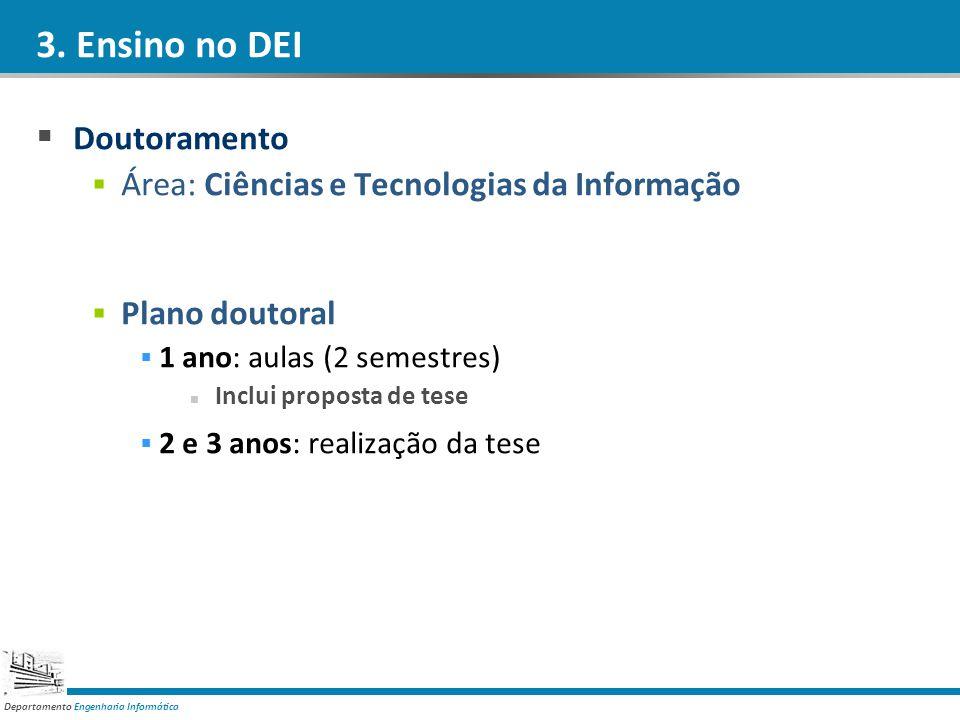 3. Ensino no DEI Doutoramento
