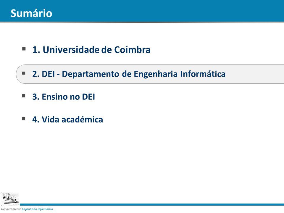 Sumário 1. Universidade de Coimbra