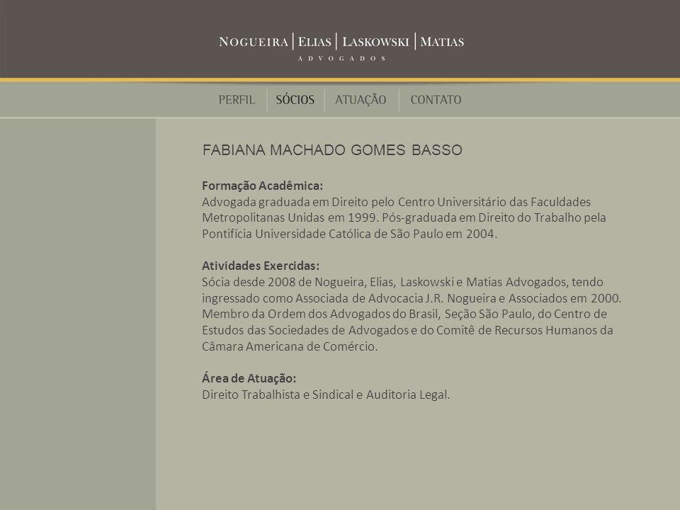 FABIANA MACHADO GOMES BASSO