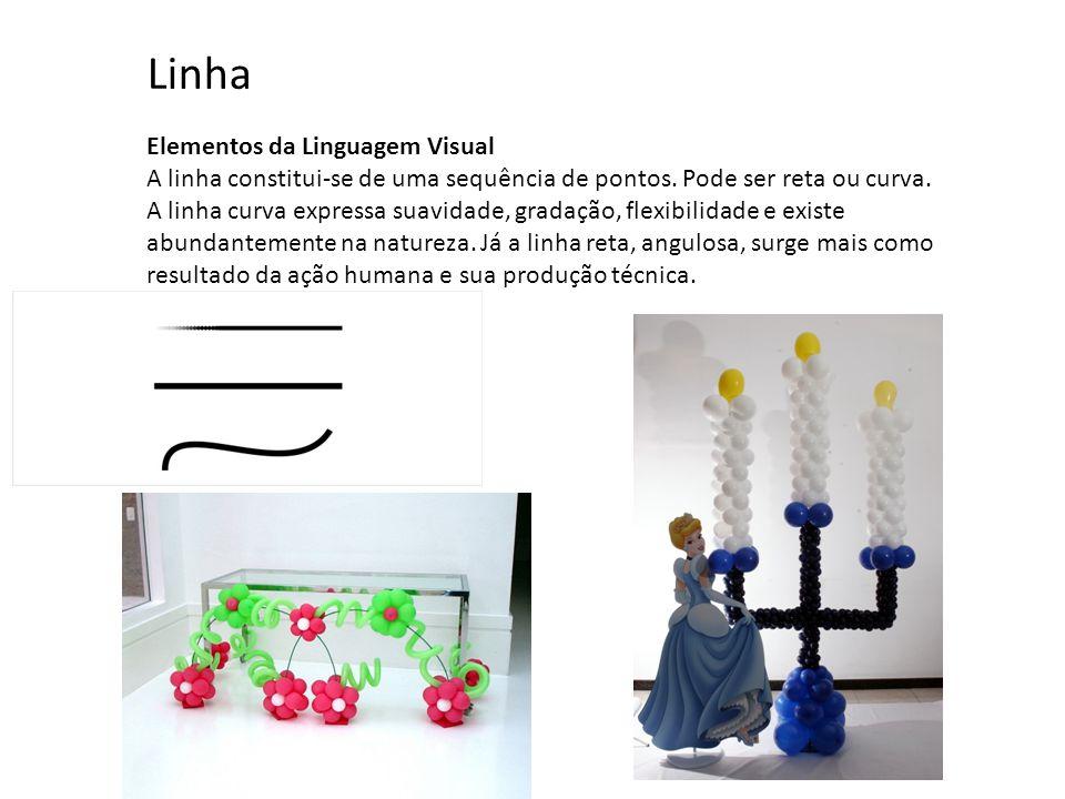 Linha Elementos da Linguagem Visual