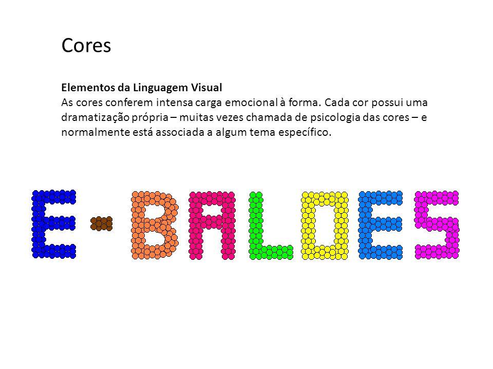 Cores Elementos da Linguagem Visual