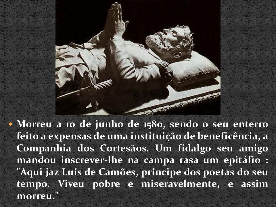 Morreu a 10 de junho de 1580, sendo o seu enterro feito a expensas de uma instituição de beneficência, a Companhia dos Cortesãos.