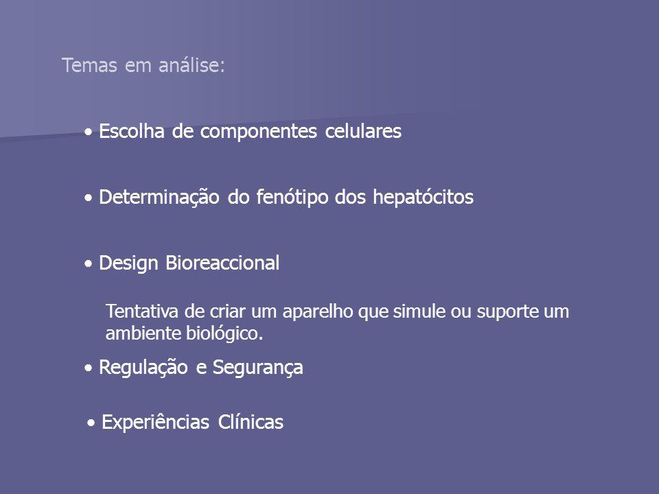 Escolha de componentes celulares