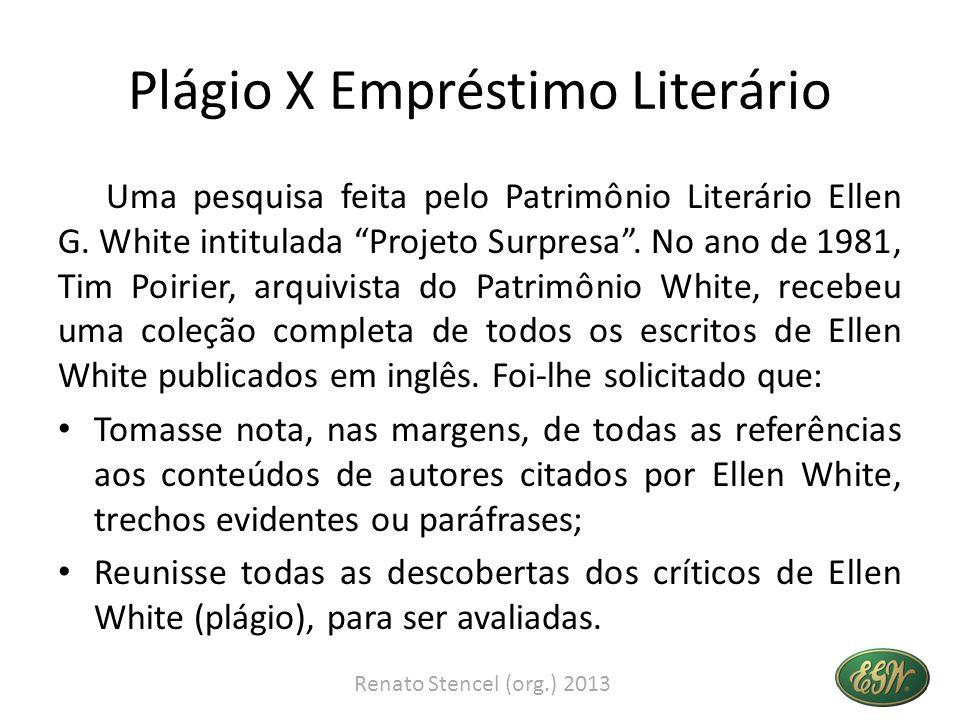 Plágio X Empréstimo Literário