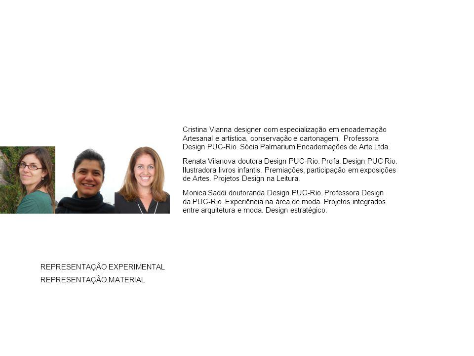 Cristina Vianna designer com especialização em encadernação