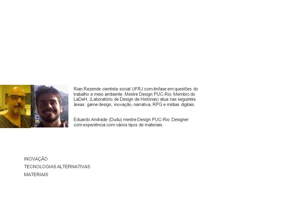 Rian Rezende cientista social UFRJ com ênfase em questões do