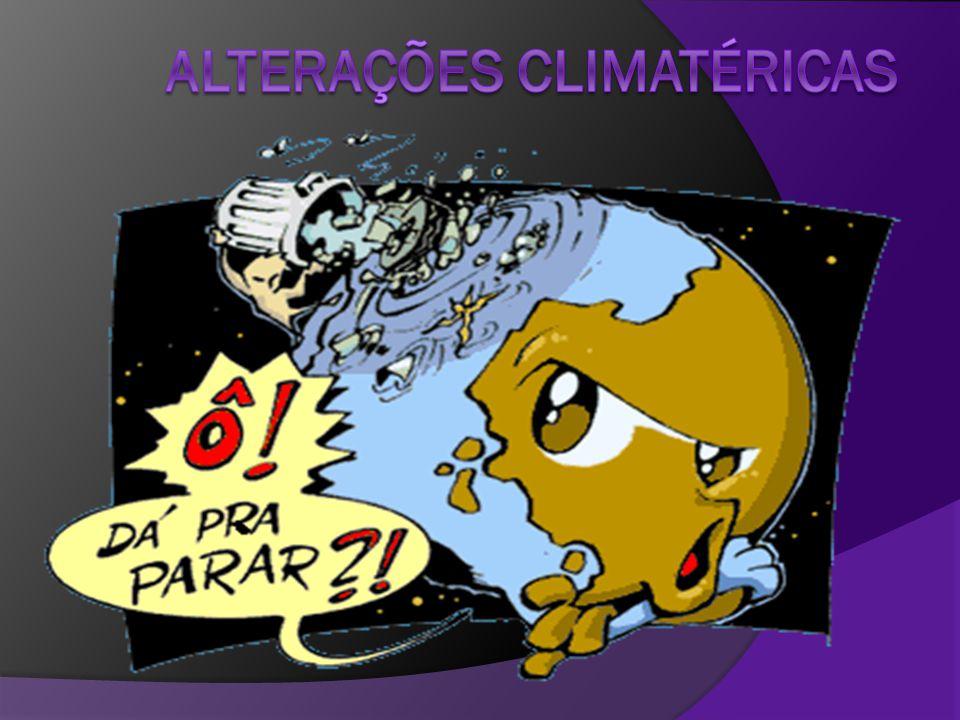 Alterações climatéricas