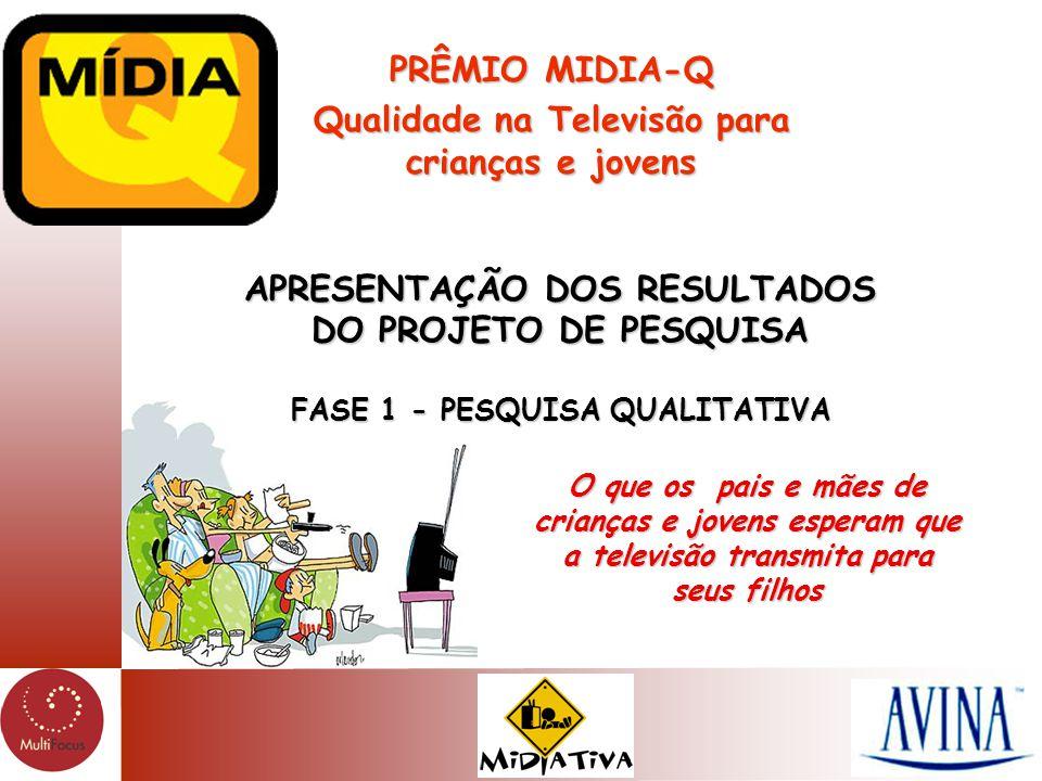 PRÊMIO MIDIA-Q Qualidade na Televisão para crianças e jovens