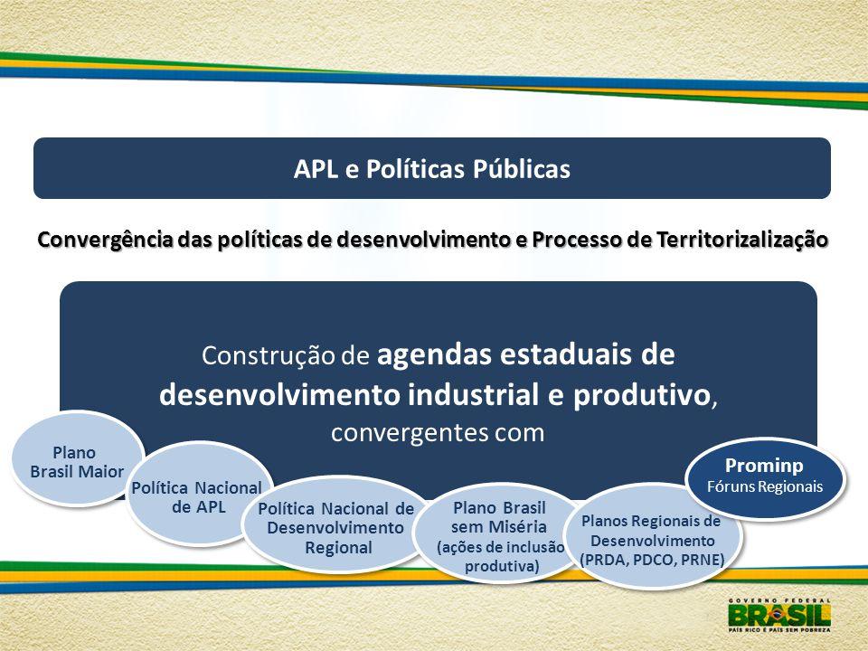 APL e Políticas Públicas