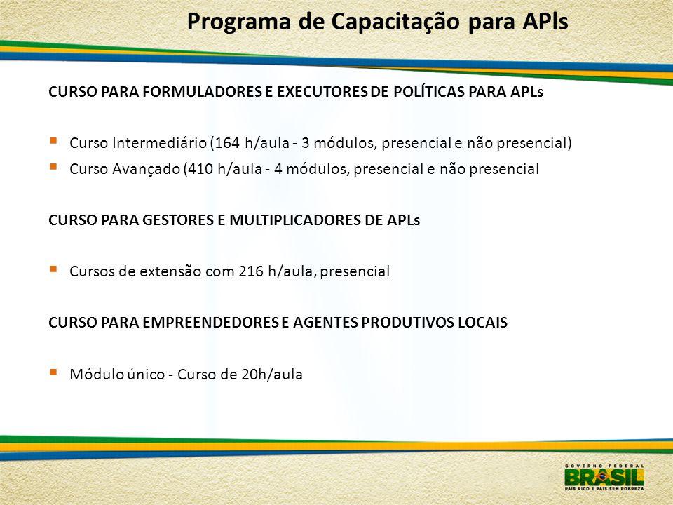 Programa de Capacitação para APls