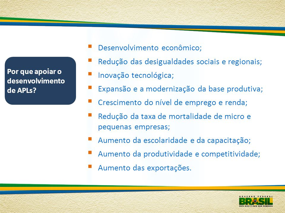 Desenvolvimento econômico;