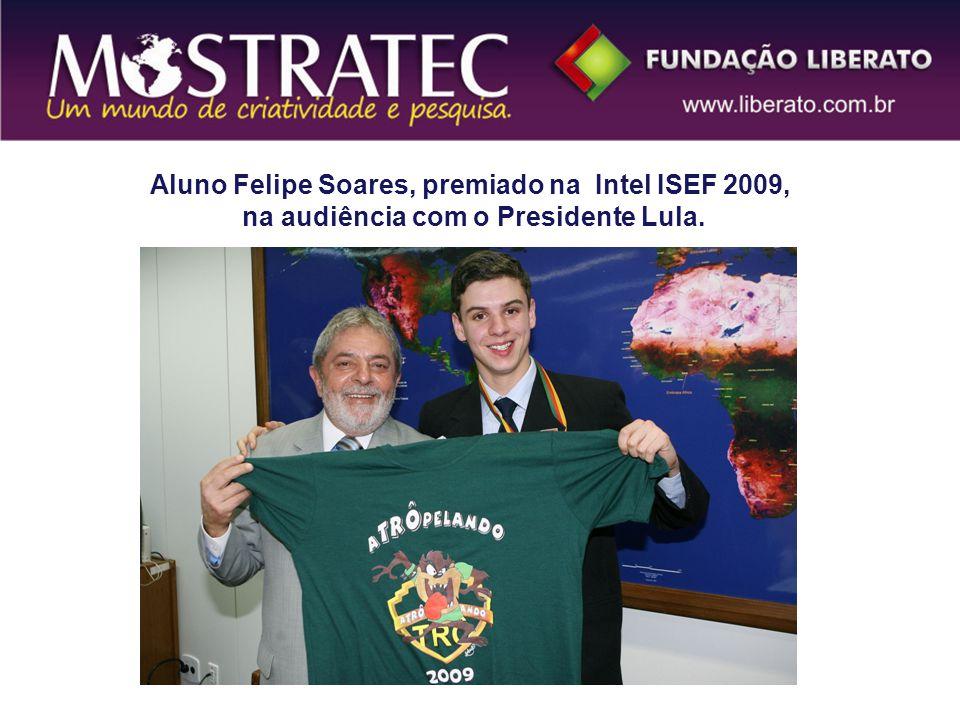 Aluno Felipe Soares, premiado na Intel ISEF 2009,