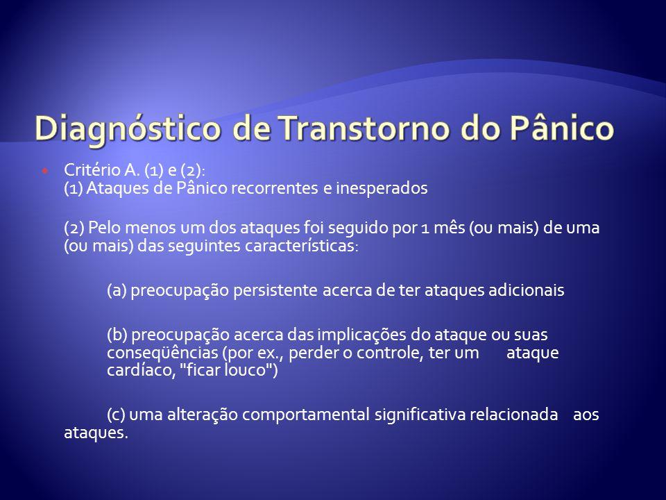 Diagnóstico de Transtorno do Pânico