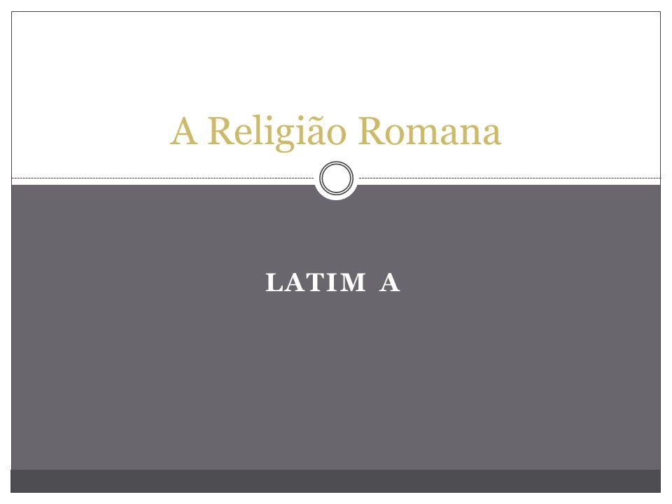 A Religião Romana Latim a
