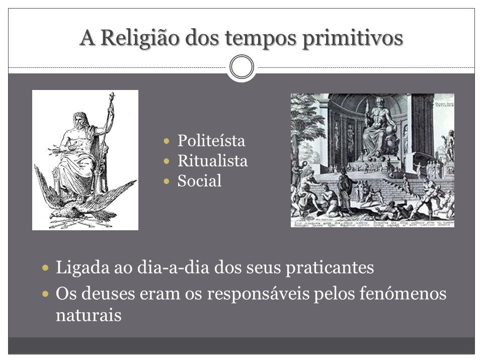 A Religião dos tempos primitivos