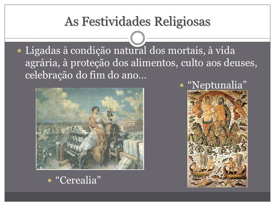 As Festividades Religiosas