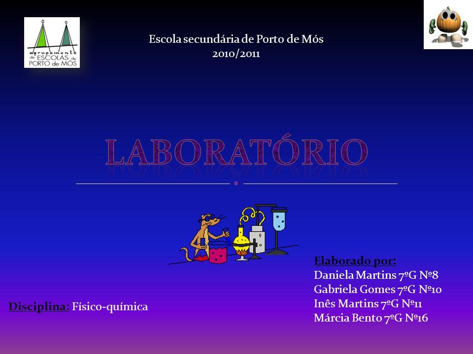 Laboratório Escola secundária de Porto de Mós 2010/2011 Elaborado por: