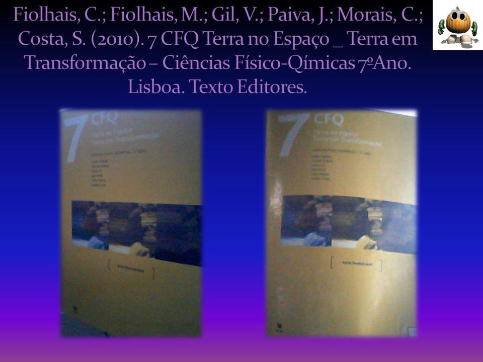 Fiolhais, C. ; Fiolhais, M. ; Gil, V. ; Paiva, J. ; Morais, C
