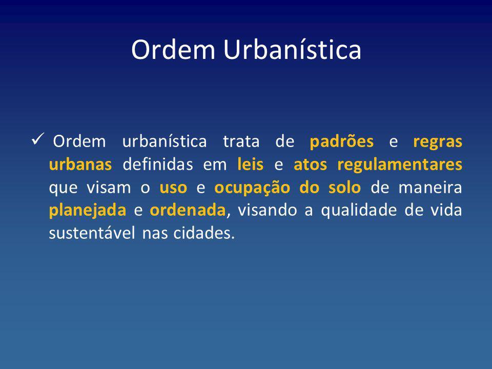 Ordem Urbanística