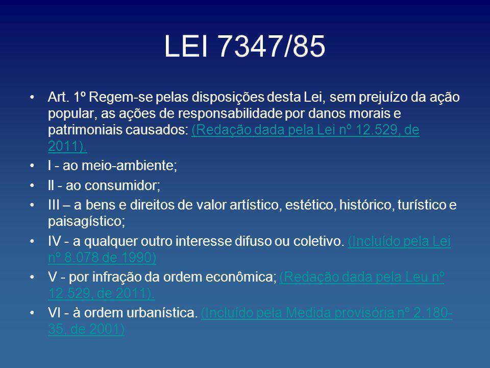 LEI 7347/85