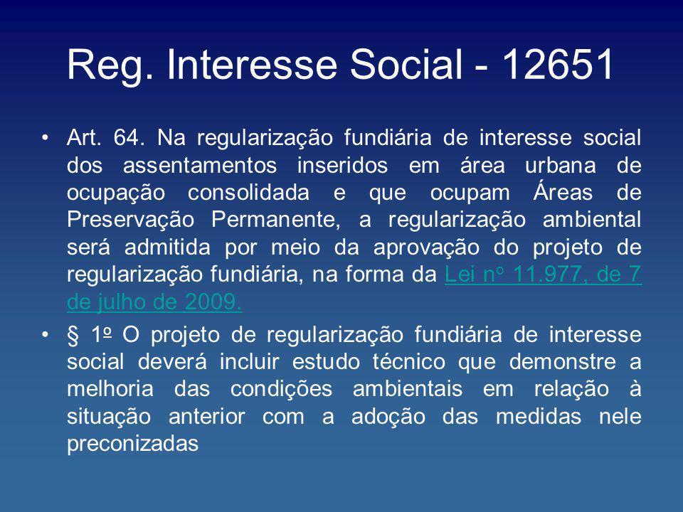 Reg. Interesse Social - 12651