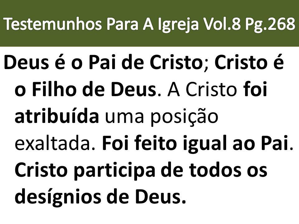 Testemunhos Para A Igreja Vol.8 Pg.268
