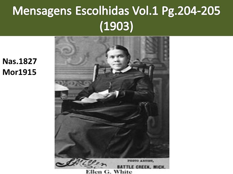 Mensagens Escolhidas Vol.1 Pg.204-205 (1903)