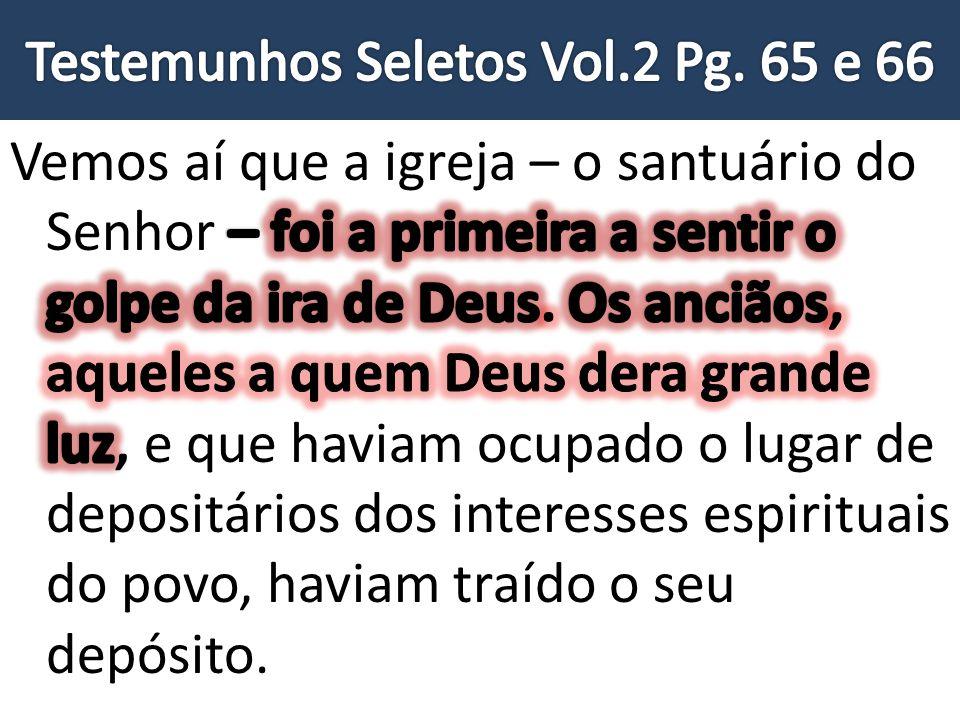 Testemunhos Seletos Vol.2 Pg. 65 e 66