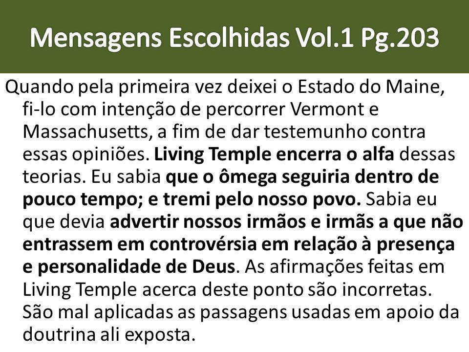 Mensagens Escolhidas Vol.1 Pg.203