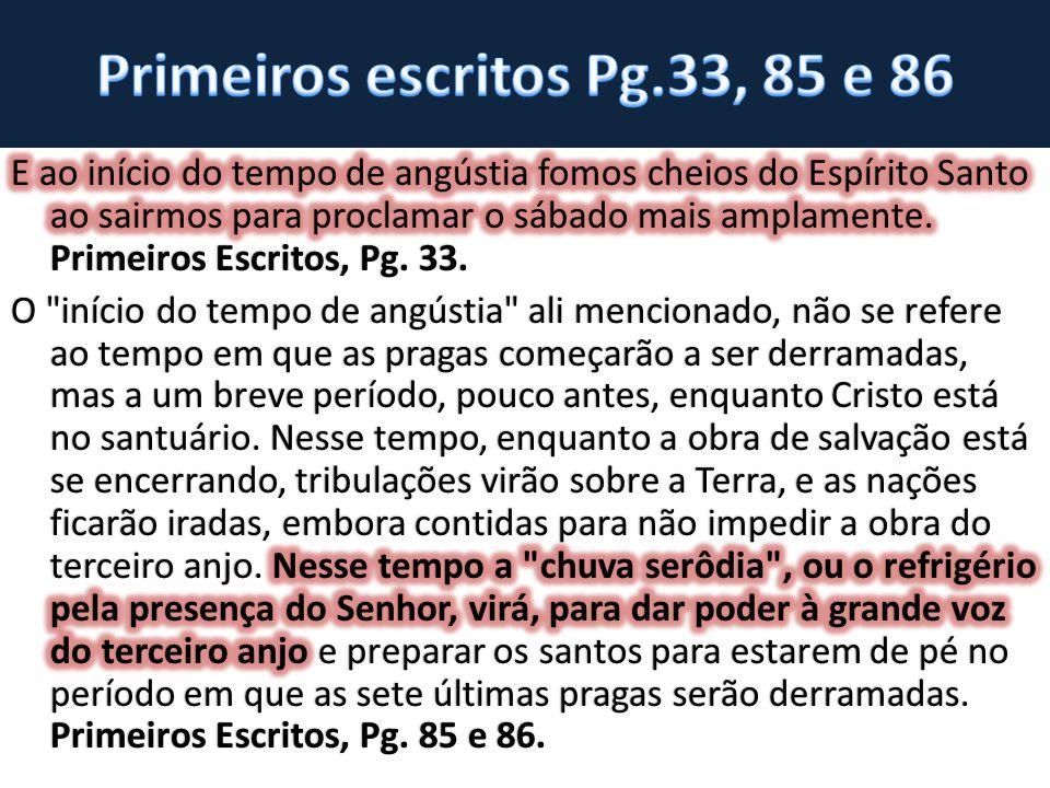 Primeiros escritos Pg.33, 85 e 86