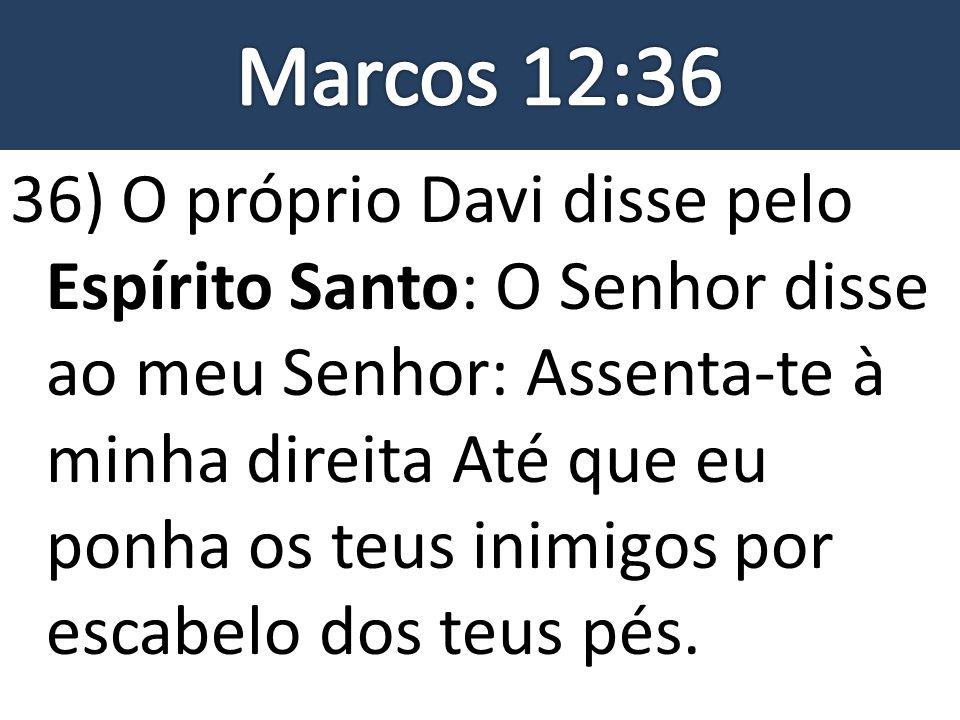 Marcos 12:36