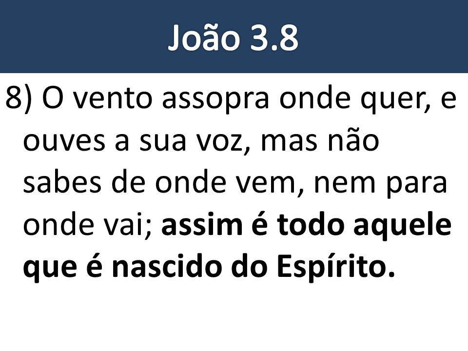 João 3.8
