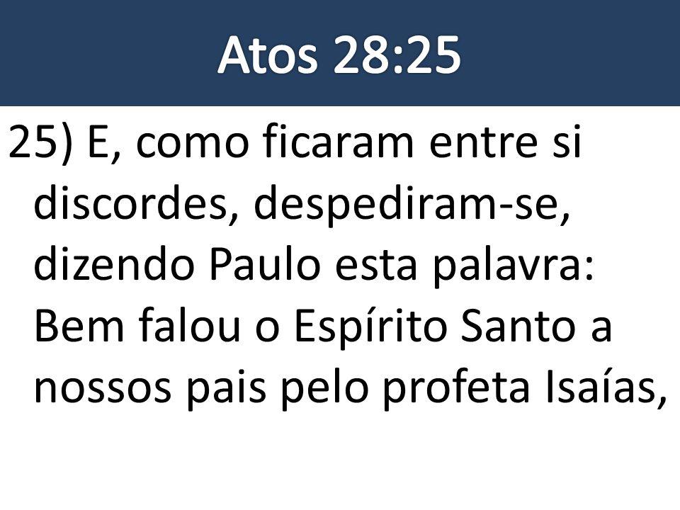 Atos 28:25