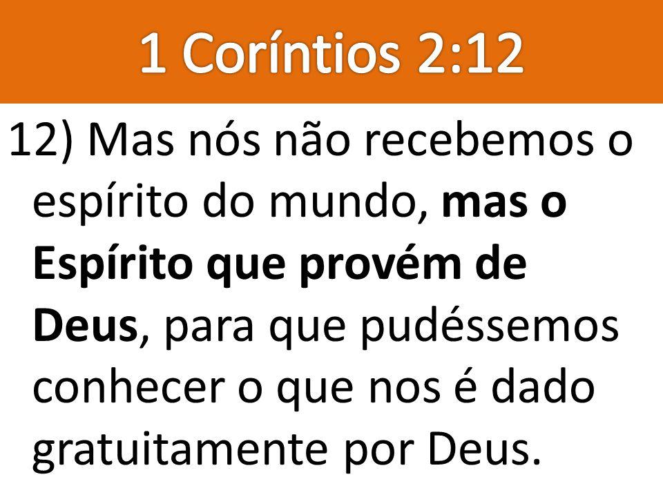 1 Coríntios 2:12