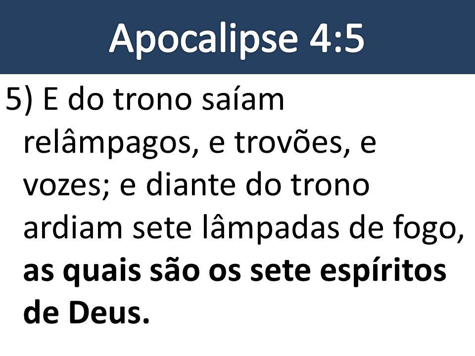 Apocalipse 4:5