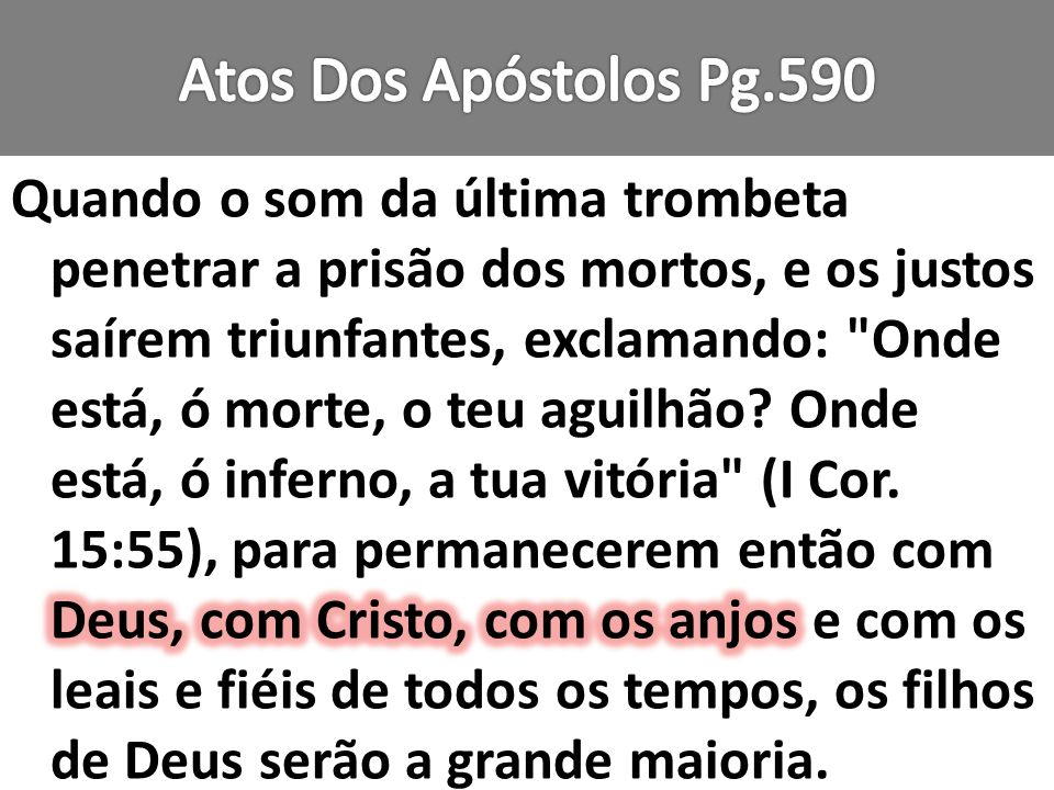 Atos Dos Apóstolos Pg.590