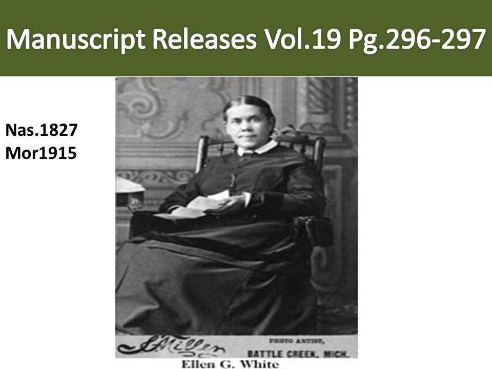 Manuscript Releases Vol.19 Pg.296-297